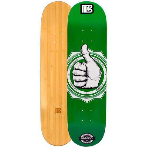 Bamboo Skateboard -A-Okay- From Bamboo Longboards - Complete - Longboards USA