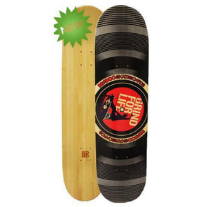 Bamboo Skateboard - Grind For Life Vinyl - From Bamboo Longboards - Complete - Longboards USA