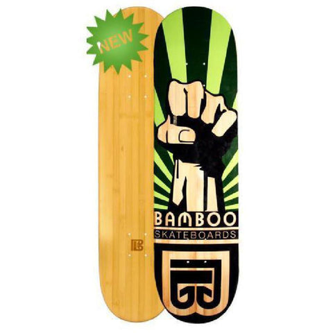 Bamboo Skateboard Power from Bamboo Skateboards Complete - Longboards USA
