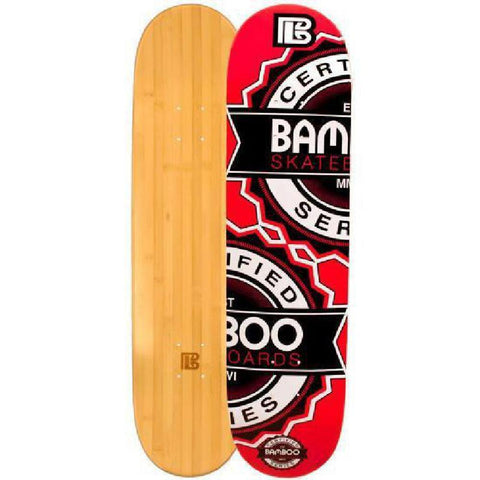 Bamboo Skateboard - Repeat- From Bamboo Longboards - Complete - Longboards USA