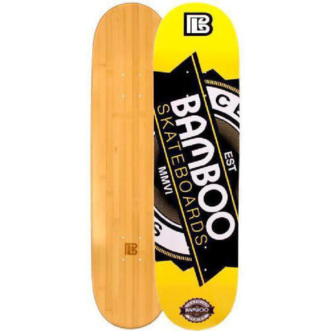 Bamboo Skateboard - Seal- From Bamboo Longboards - Complete - Longboards USA