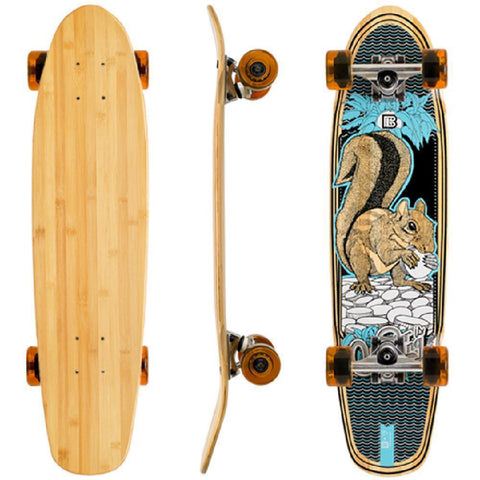 "Bamboo Squirrel BLVD 29"" Cruiser Longboard - Longboards USA"
