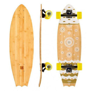 "Bat Tail Bamboo Chaac 31"" Cruiser Longboard - Longboards USA"