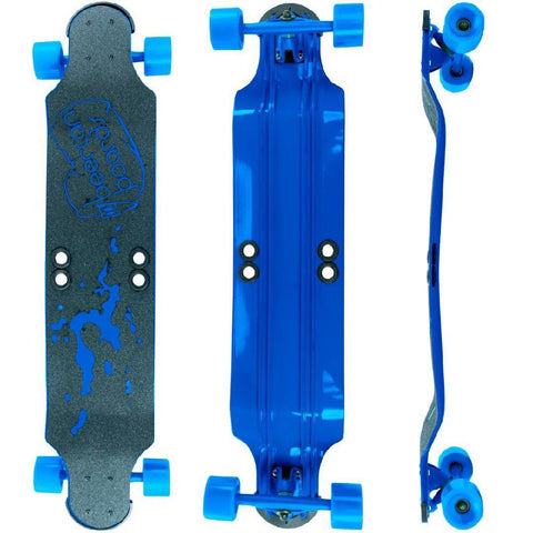 "Beercan Blue 38"" Root Beer Longboard - Longboards USA"
