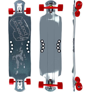 "Beercan Chrome 42"" Oat Soda Drop Through Longboard - Longboards USA"