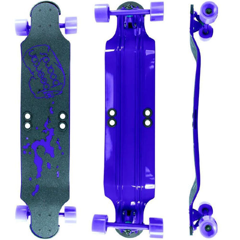 "Beercan Purple 38"" Root Beer Longboard - Longboards USA"