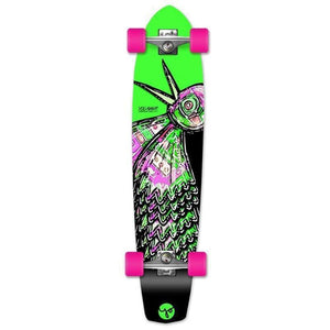 "Bird Green 36"" Slimkick Longboard from Punked - Complete - Longboards USA"