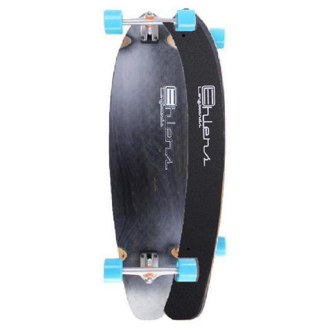 Black Ehlers Kicktail 40 inch Longboard - Longboards USA