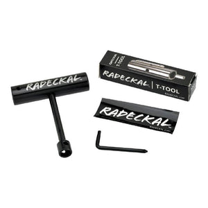 Black Radeckal Compact Pocket Skate Tool - Longboards USA