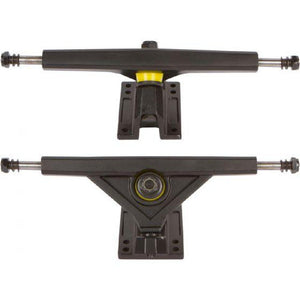 Black Radeckal Standard Reverse King Pin Longboard Trucks - set of 2 - Longboards USA