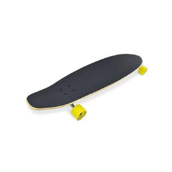 "Black Shades 40"" Kicktail Longboard from Punked - Complete - Longboards USA"