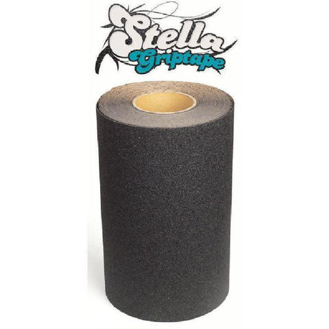 Black Stella Coarse Longboard Skateboard Griptape Per Foot - Longboards USA
