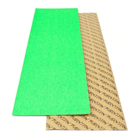 "Black Widow Neon Green Longboard Skateboard 9""x 33"" Griptape Sheet - Longboards USA"