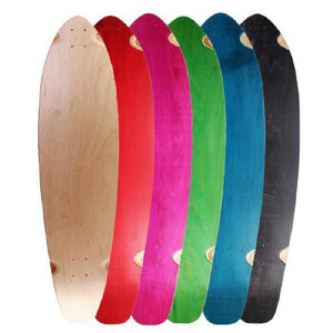 "Blank 36"" Kicktail Longboard  Deck - Longboards USA"