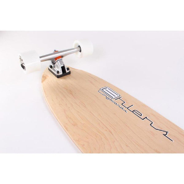 "Blank Kicktail Longboard Natural 40"" from Ehlers - Complete - Longboards USA"