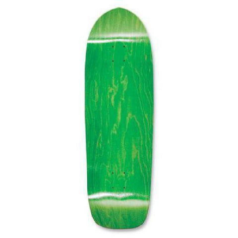 Blank Old School Skateboard Deck  33 x 10 - Green - Longboards USA