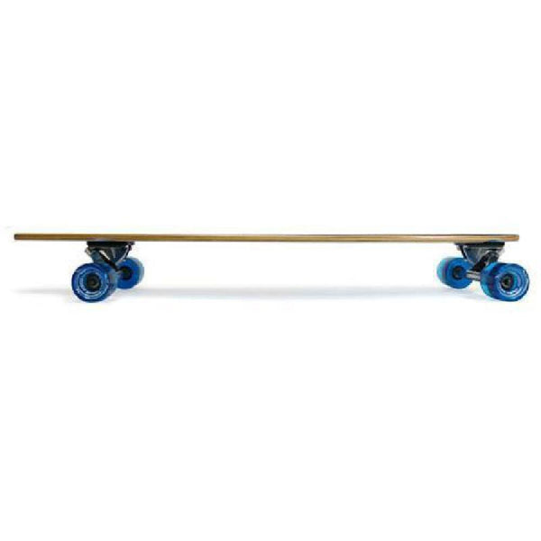 Blue 40 inch Pintail Longboard from Punked - Complete - Longboards USA