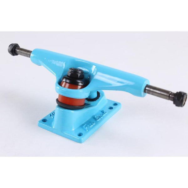 "Blue Free Soul Skateboard Cruiser Trucks 5"" set of 2 - Longboards USA"