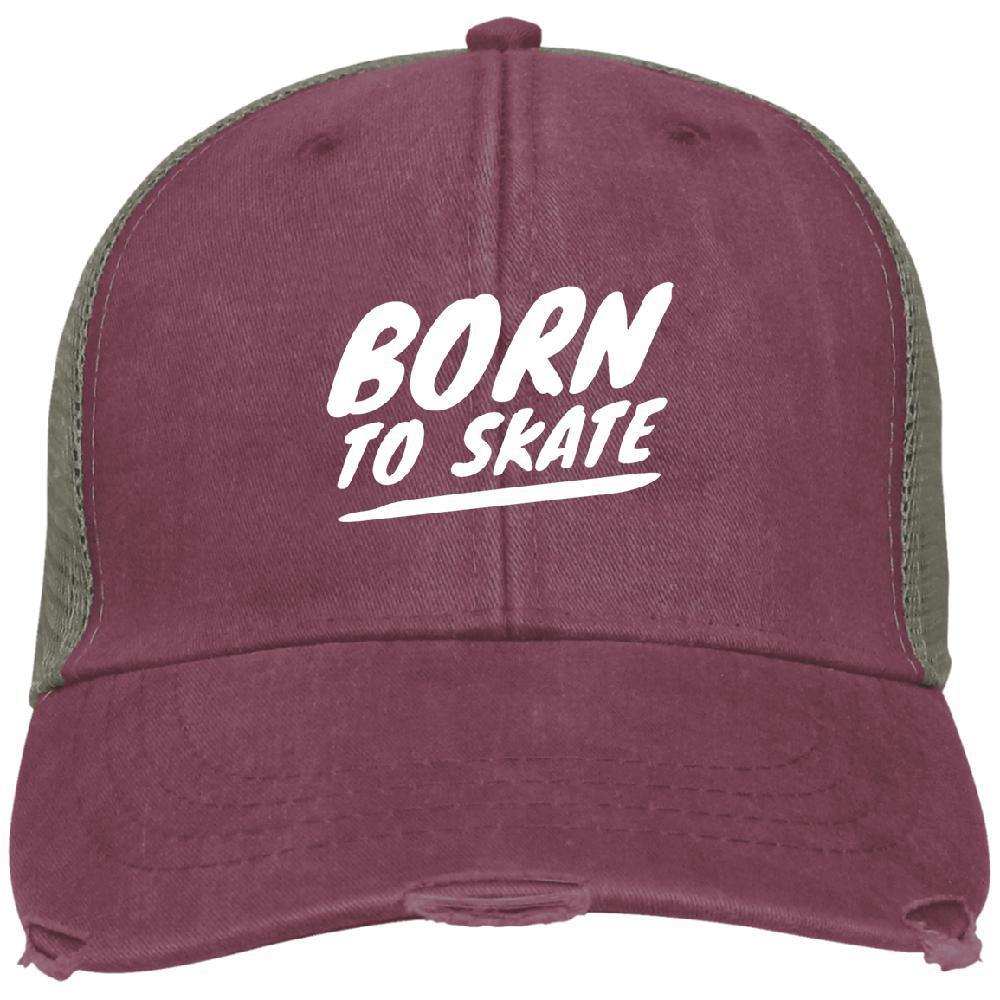 Born to Skate Ollie Cap - Longboards USA