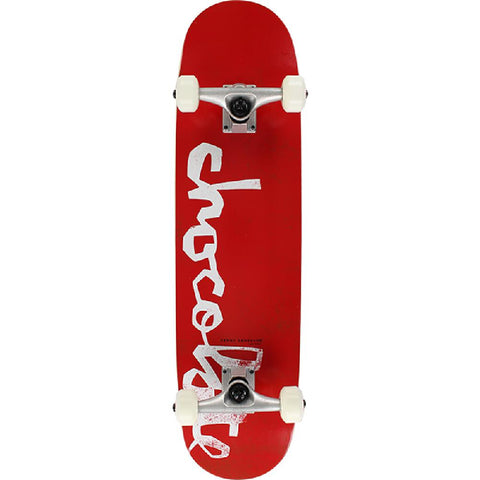 "Chocolate Anderson OG Chunk Red 7.75"" Skateboard - Longboards USA"