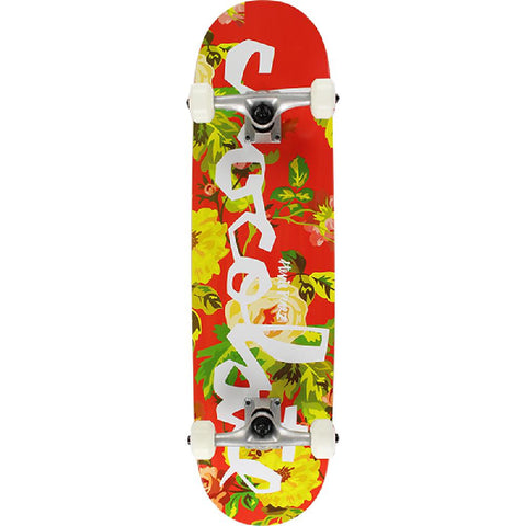 "Chocolate Perez Floral Chunk 7.5"" Skateboard - Longboards USA"