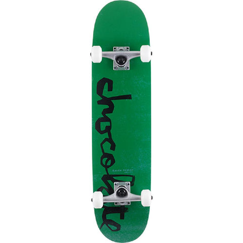 "Chocolate Tershy Og Chunk in Green 7.62"" Skateboard - Longboards USA"