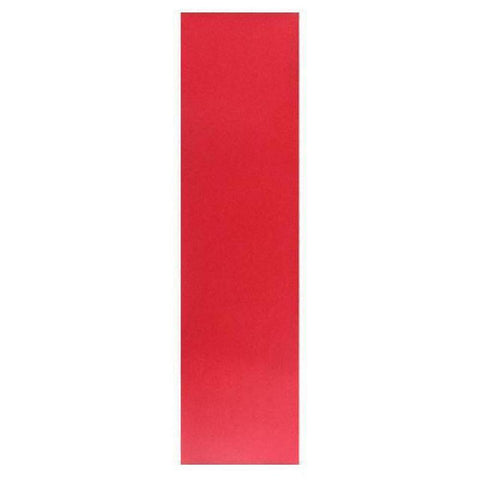 "Colored Longboard Skateboard Griptape Sheet 10""x 42"" -  Red - Longboards USA"