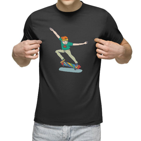 Cool Boy Skateboarding T-Shirt - Longboards USA