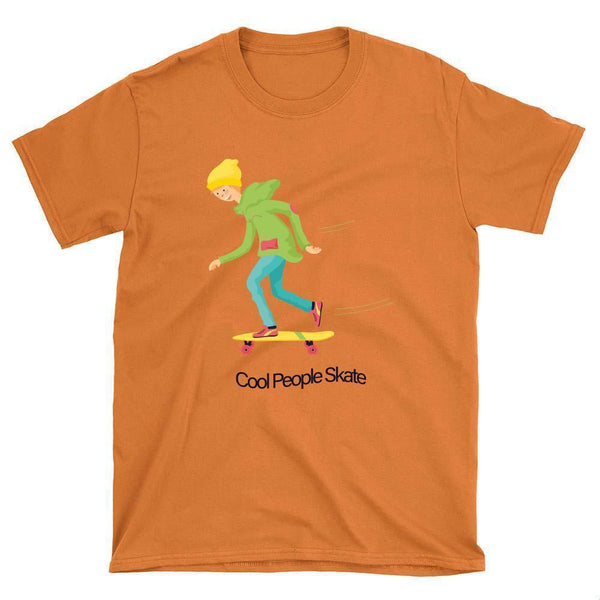 Cool People Skate T-Shirt - Longboards USA