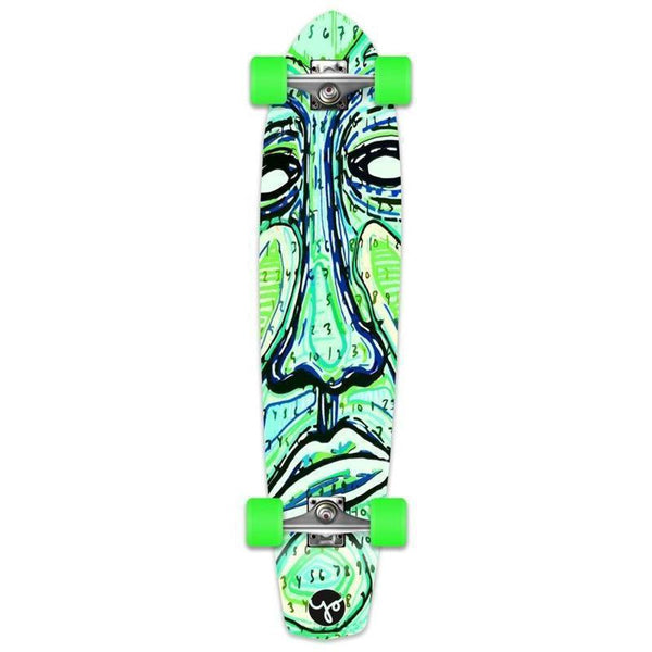 "Countdown 36"" Slimkick Longboard from Punked - Complete - Longboards USA"