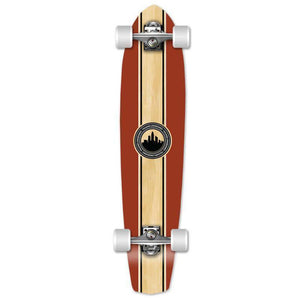 "Crest 36"" Slimkick Longboard from Punked - Complete - Longboards USA"