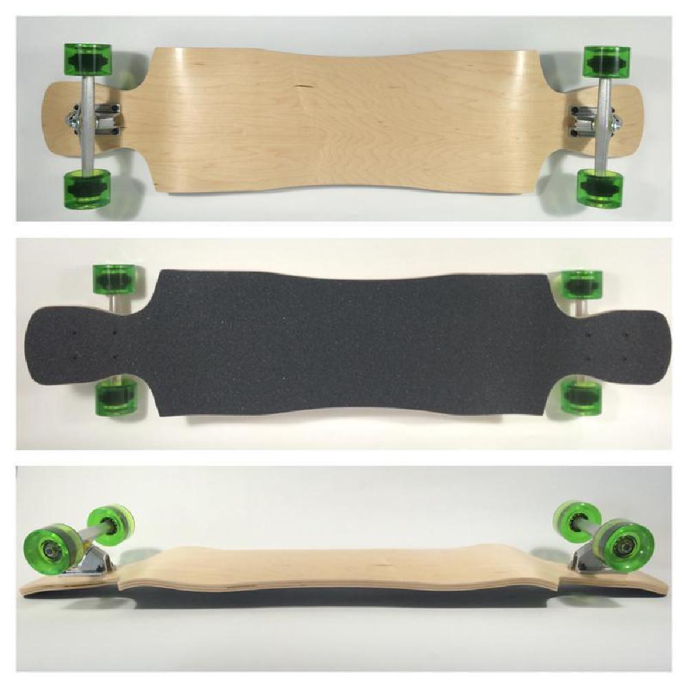 Crystal Drop Down Double Kick Longboard 42 inches - Complete - Longboards USA