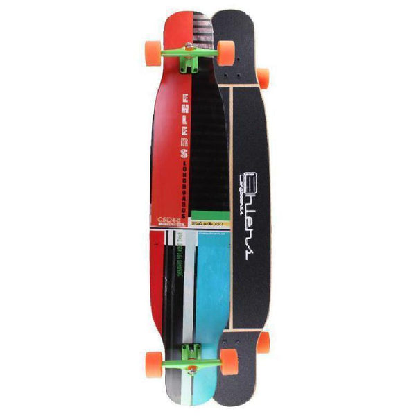 CSD Cross Stepping 48 inch Dancer Double Kick Longboard - Longboards USA