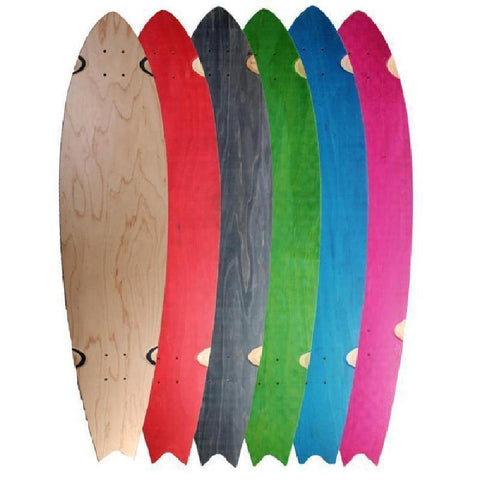 "Customized Blank Split Tail  40""  Longboard - Longboards USA"