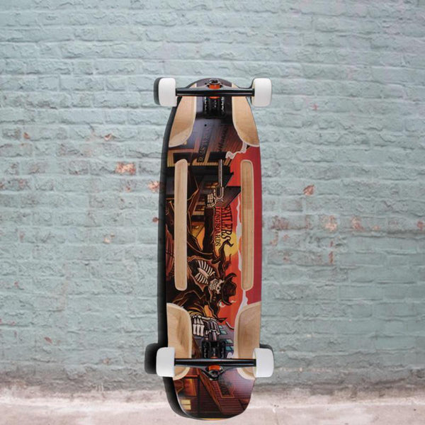 "Downhill Freeride Revenger 34"" Longboard - Longboards USA"