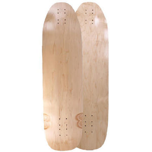 "Downhill Kicktail Blank Natural 36"" Longboard Deck - Longboards USA"