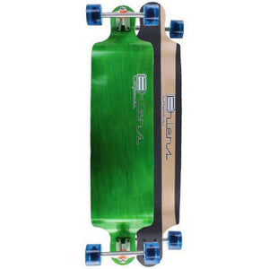 "Drop Down Bomber Longboard 41"" Green from Ehlers - Longboards USA"
