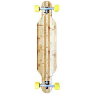 Drop Through Bamboo Blank 39 inch Longboard Complete - Longboards USA