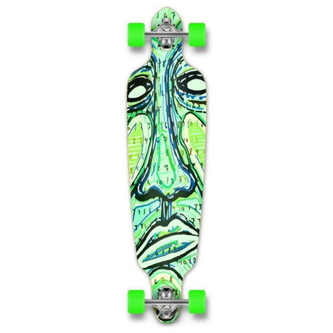 "Drop Through Longboard Countdown 41"" Graphic from Punked - Longboards USA"
