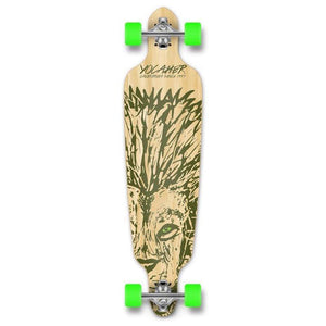 "Drop Through Longboard Lion 41"" Graphic from Punked - Longboards USA"