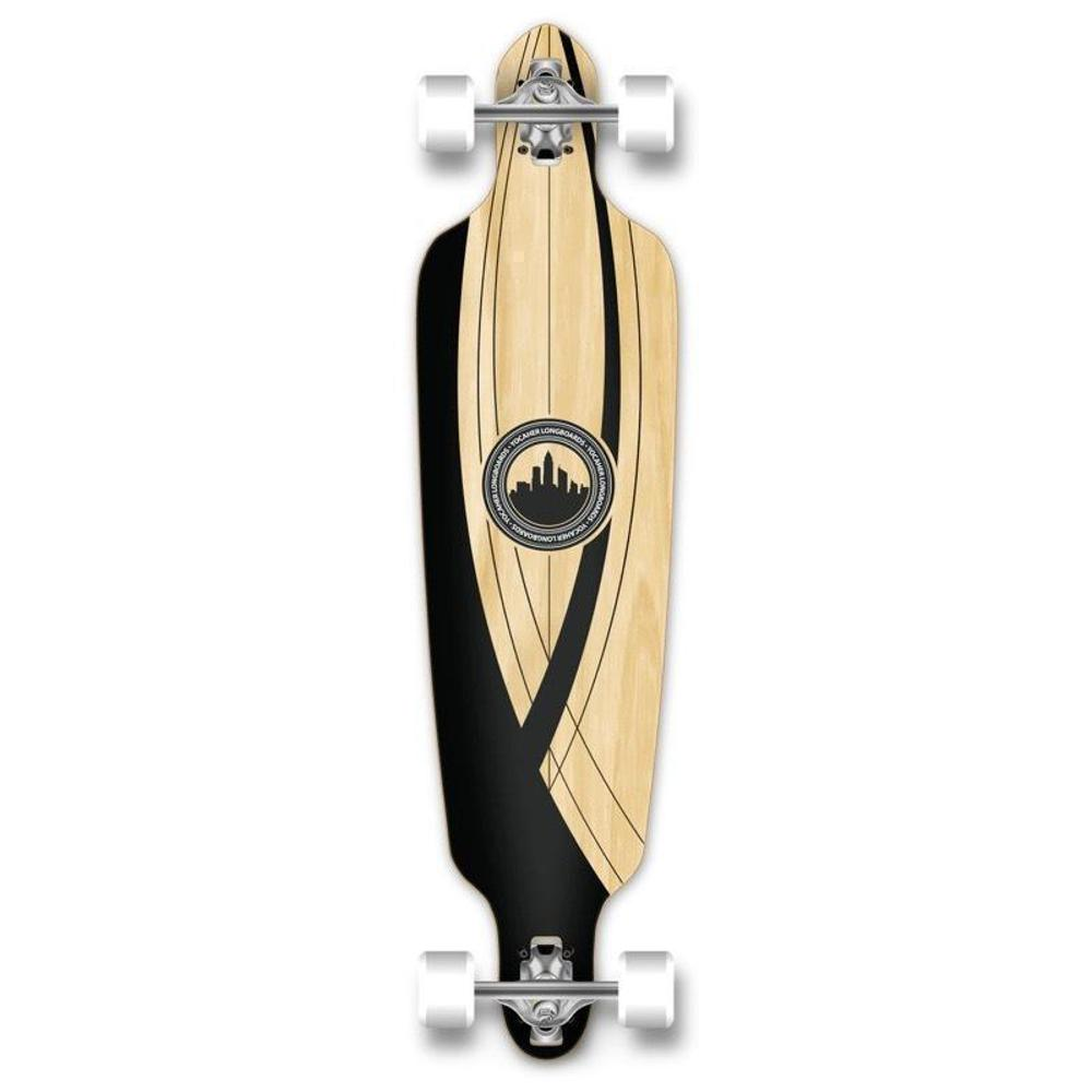 "Drop Through Longboard Onyx 41"" Graphic from Punked - Longboards USA"