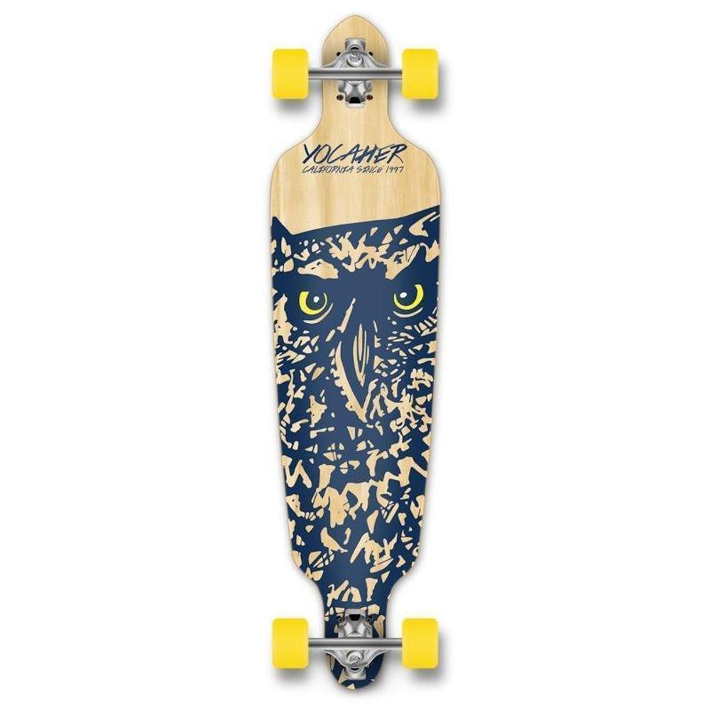 "Drop Through Longboard Owl 41"" Graphic from Punked - Longboards USA"