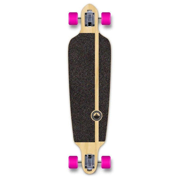 "Drop Through Longboard Pines Blue 41"" Graphic from Punked - Longboards USA"