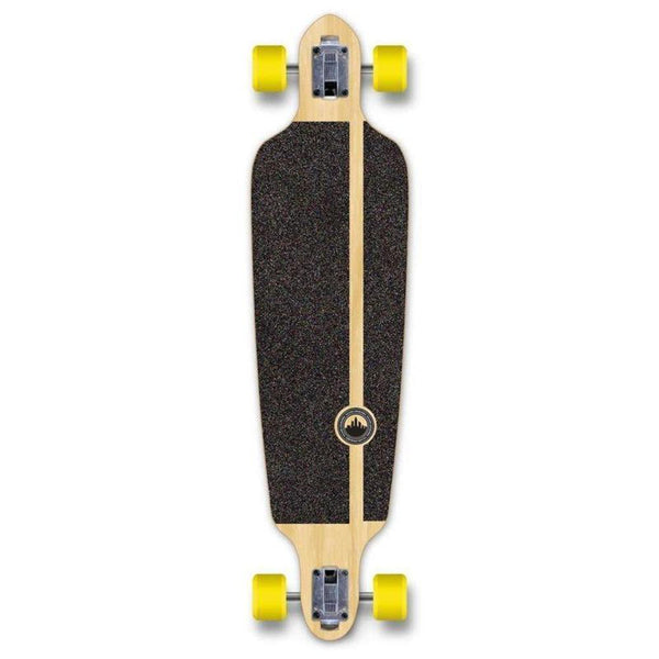 "Drop Through Longboard Pines Red 41"" Graphic from Punked - Longboards USA"