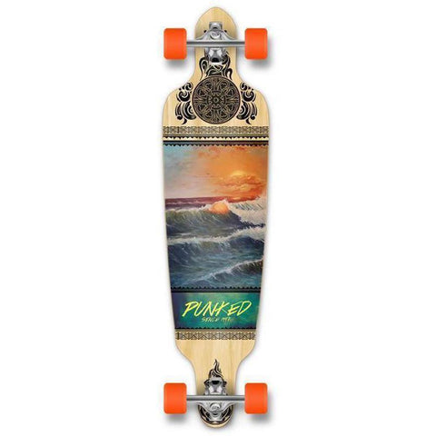 "Drop Through Wave Scene 40"" Longboard - Longboards USA"