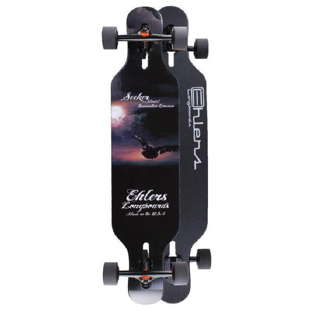 Ehlers Double Kicktail Drop Through Seeker Longboard - Complete - Longboards USA