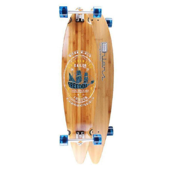 "Ehlers Sailor 44"" Bamboo Pintail Longboard - Longboards USA"