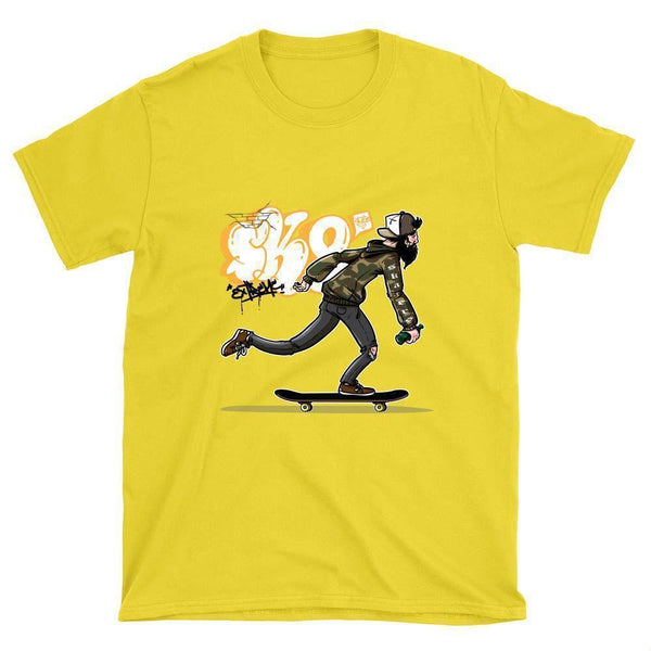 Extreme Sk8 Skateboard T-Shirt - Longboards USA