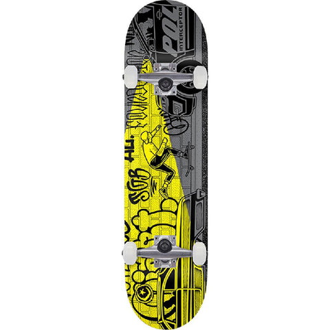 "Foundation Mike Giant Push 8.5"" Skateboard - Longboards USA"