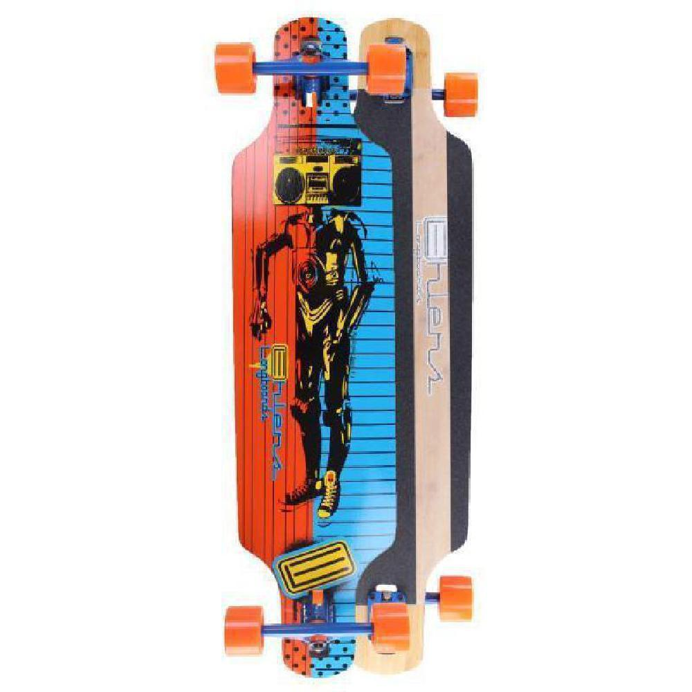 "Ghetto Bot Bamboo Drop Through 40"" Longboard - Longboards USA"